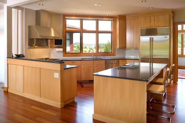 Chou Residence Contemporary Kitchen
