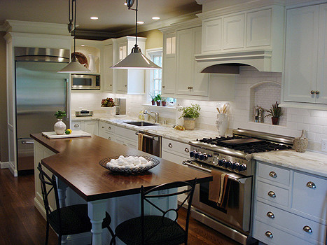 christian rice architects, inc. traditional kitchen
