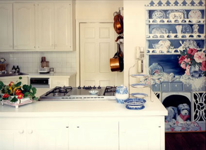 Christina Haire Design & Antiques traditional kitchen