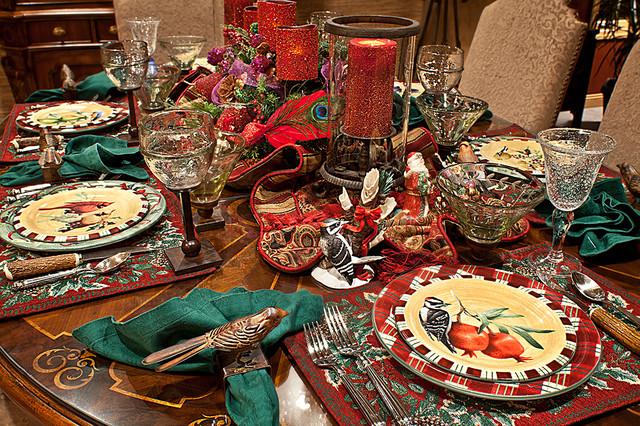 Christmas Decor mediterranean-kitchen