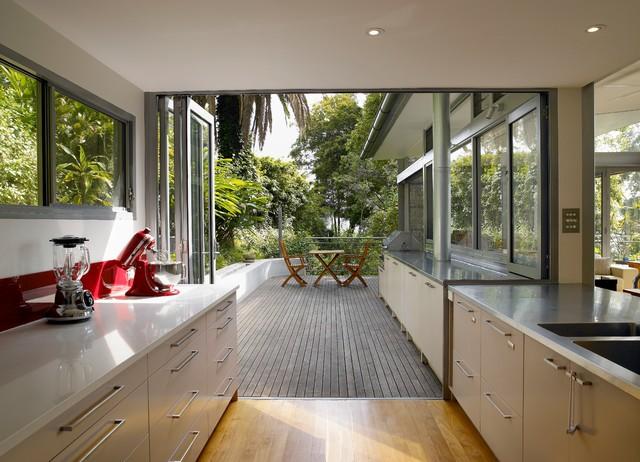 Church Point - Modern - Küche - Sydney - von Utz-Sanby Architects