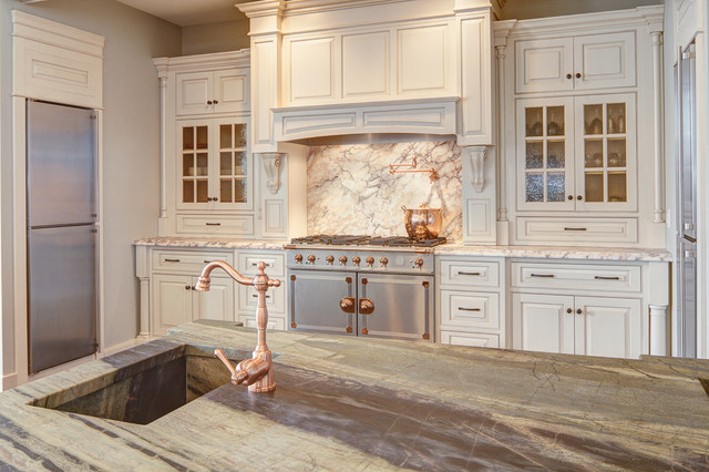 Church to a Single Family Home traditional-kitchen