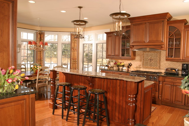 Cinnamon Spice Kitchen - Traditional - Kitchen - new york - by ...