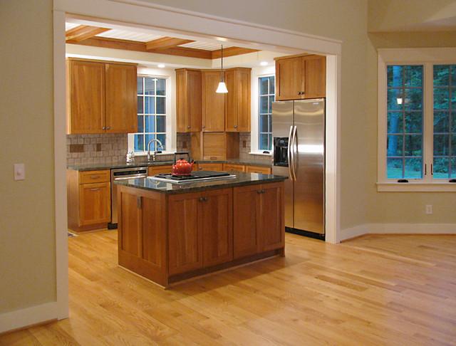 Cismont, Virginia Cottage contemporary-kitchen