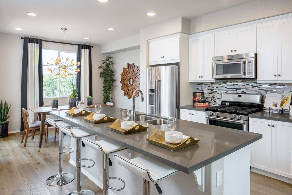 Citrus Pointe At The Orchards In Upland Ca Kitchen Los Angeles By William Lyon Homes