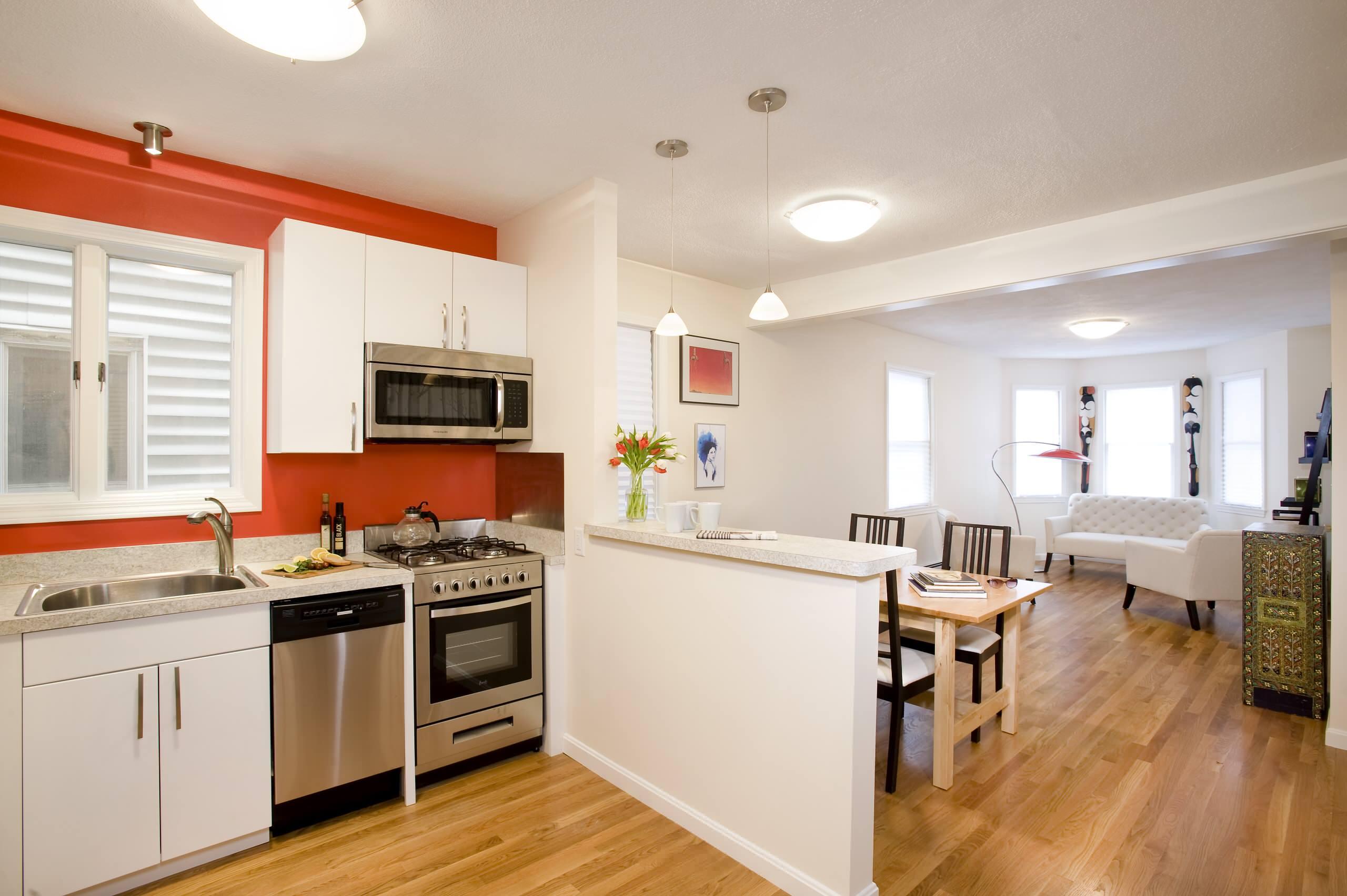 Kitchen Half Wall Houzz