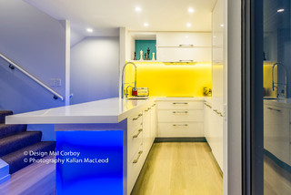 City Apartment Contemporary Kitchen Auckland By Mal Corboy Design