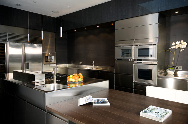 City Centre Family Home Contemporary Kitchen Other By Malcolm Duffin Design