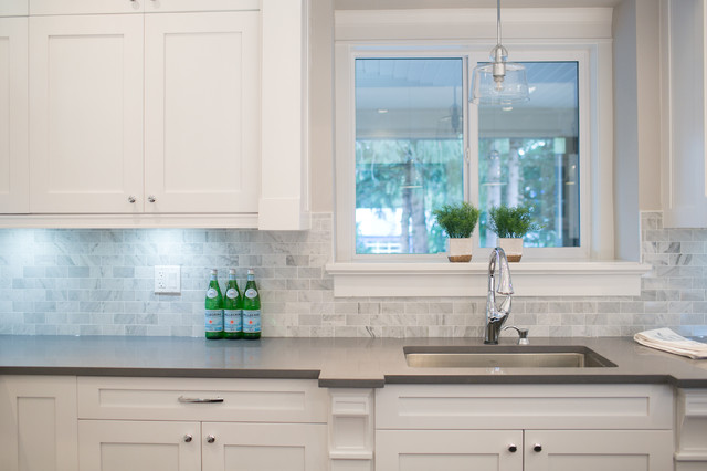 City Glam In The Country Contemporary Kitchen