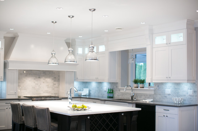 City glam in the country contemporary kitchen for Kitchen ideas vancouver