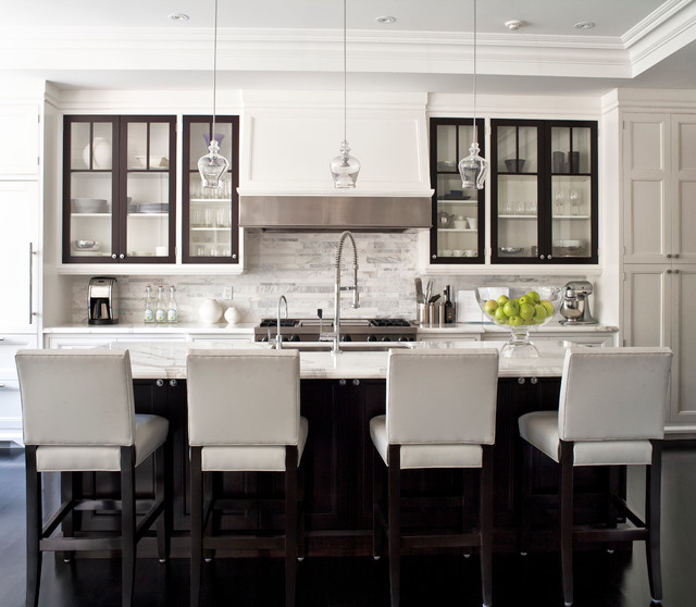 contemporary kitchen by Jennifer Worts Design