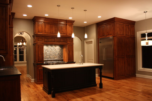 City Homes of North Wheaton traditional-kitchen