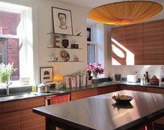 City retreat contemporary-kitchen