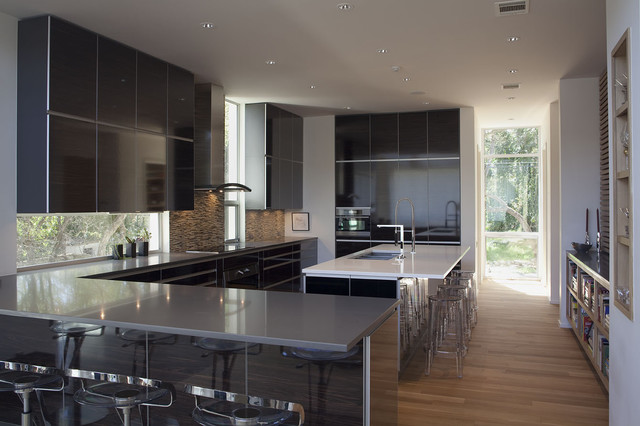 contemporary, custom-designed kitchen contemporary-kitchen