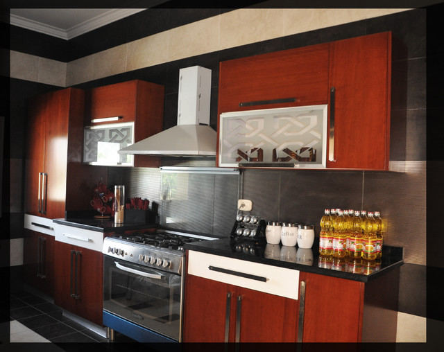 city view guest house modern-kitchen