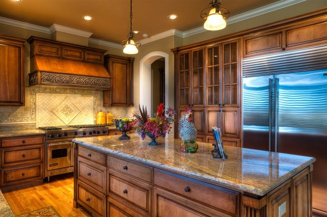 City Views Refresh Traditional Kitchen