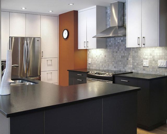 City Zen Modern Kitchen Ottawa By Handwerk Interiors