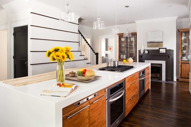 Epic Contemporary Kitchen by Terracotta Design Build
