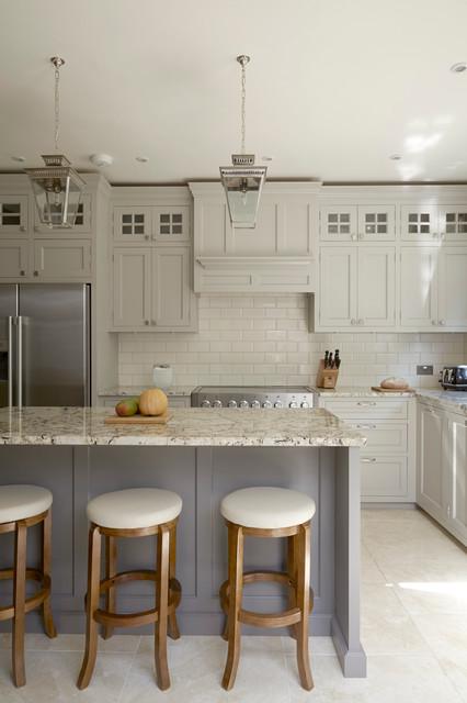 Clapham American Style Kitchen - Klassisch - Küche - London ...