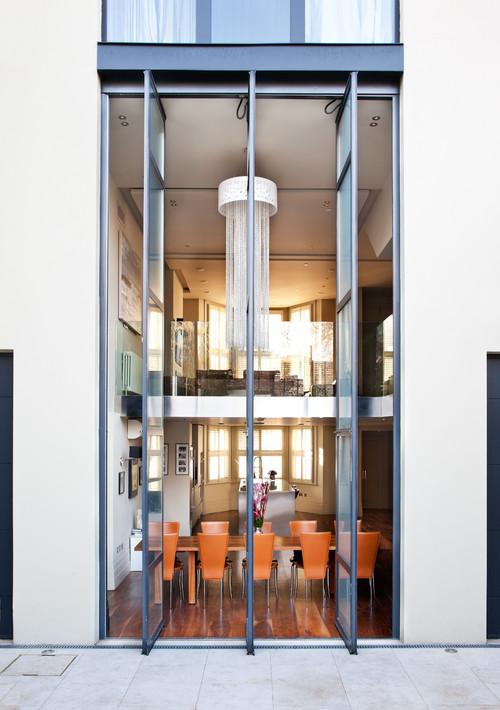 Lift and slide doors