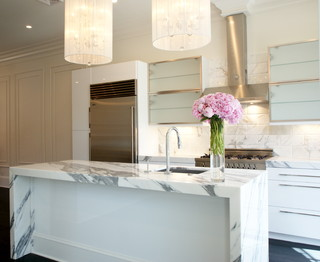 Claremont Park modern-kitchen