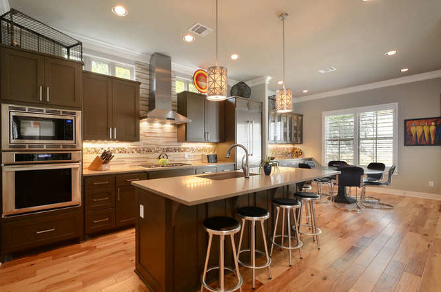 Clarksville Master Home & Bungalow contemporary-kitchen