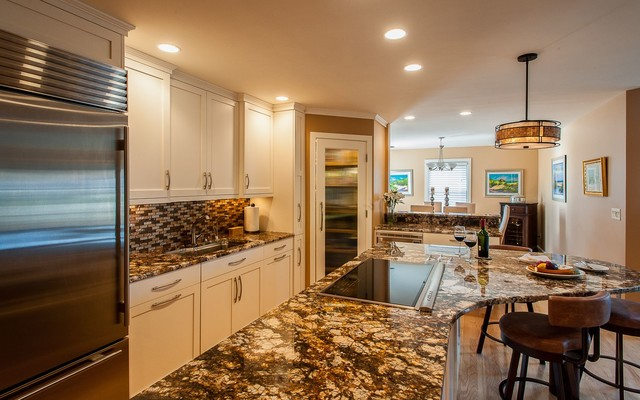 Classic Beauty contemporary-kitchen