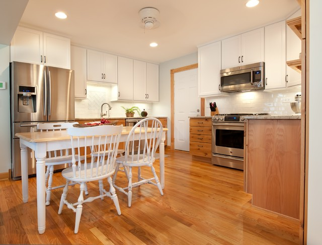 classic cape cod traditional kitchen chicago by