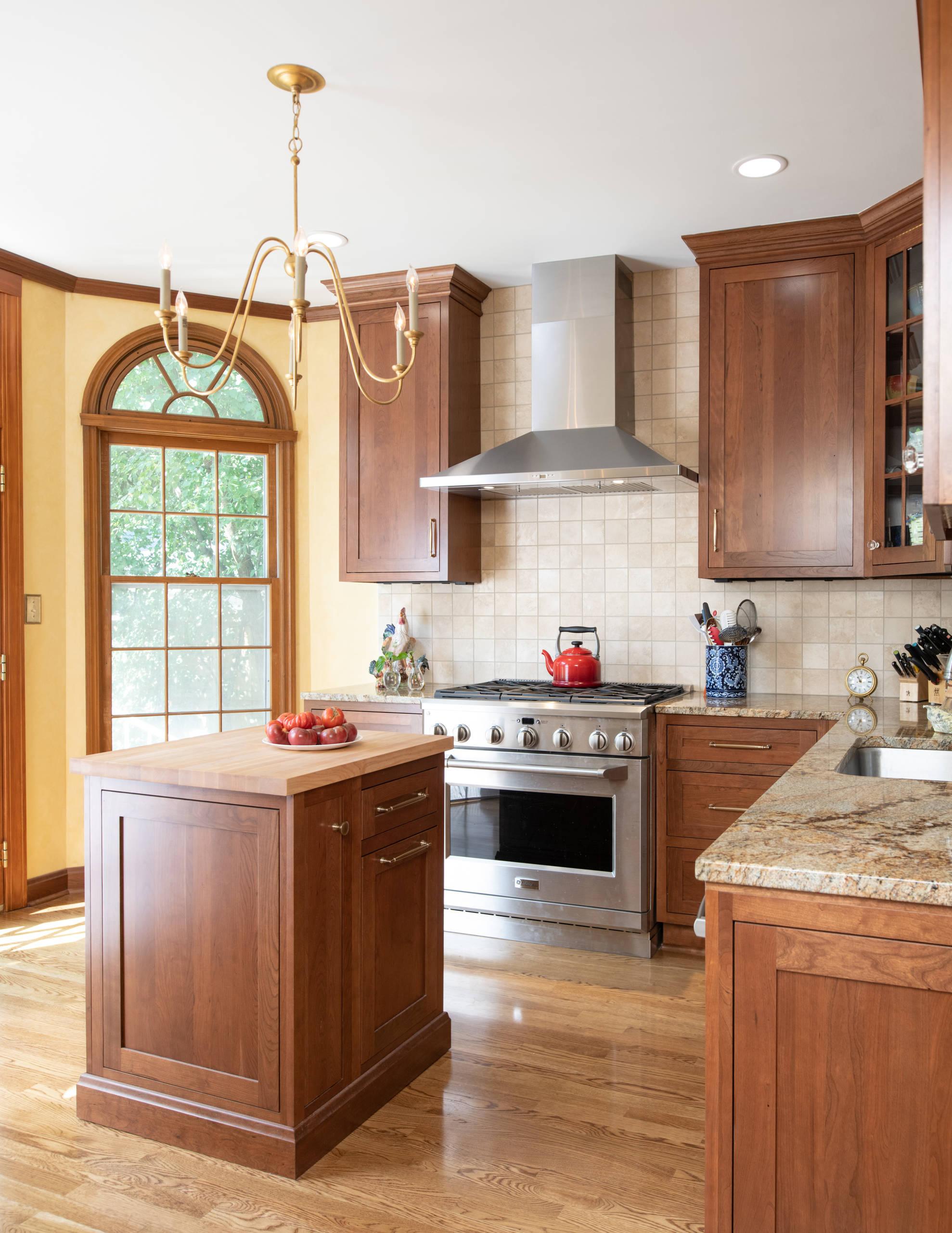 Classic Cherry Kitchen Remodel