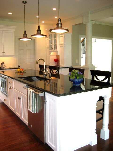 Classic Colonial - Traditional - Kitchen - burlington - by ...