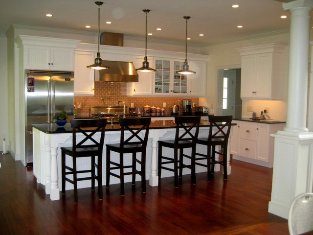 Classic Colonial Traditional Kitchen Burlington by Kitchens by Design
