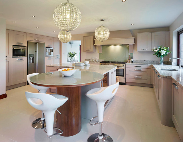 Classic Contemporary Contemporary Kitchen Other By Denmore