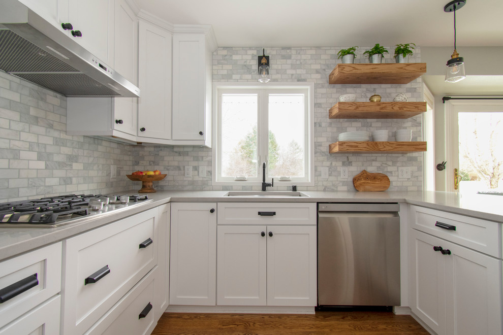 Classic Delafield Kitchen Remodel - Transitional - Kitchen ...