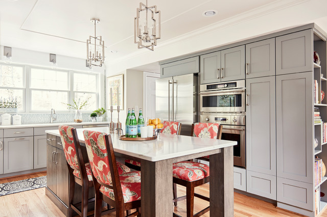 Kitchen of the Week: A Casually Elegant Eat-In Space