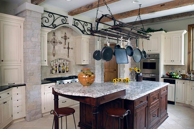 Riverside, IL Custom Home traditional-kitchen