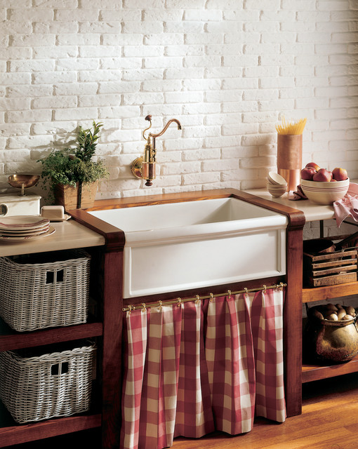 Surprising Classic French Farmhouse Kitchen With Herbeau Farm Sink Interior Design Ideas Apansoteloinfo