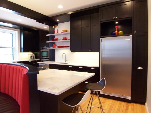 Classic Historic Makeover contemporary-kitchen