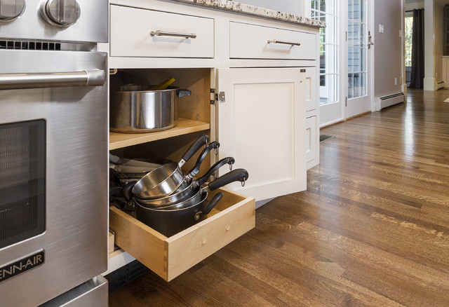 Classic Inset Shaker Kitchen Design - Transitional - Kitchen - Boston - by CliqStudios
