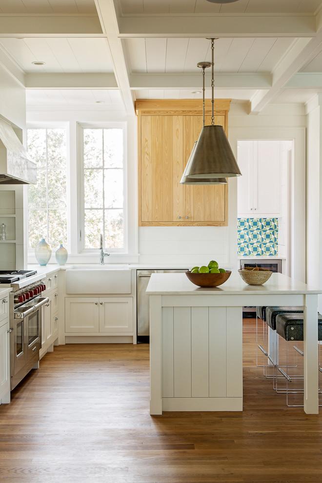 Classic Island Beach Cottage Kitchen