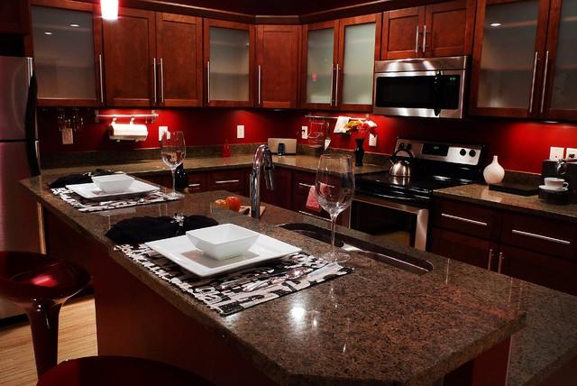 Classic Kitchen & Bath design of Wolf Kitchen - Modern - Kitchen ...