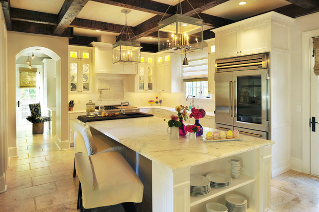 Classic Kitchen and Chic Study contemporary-kitchen