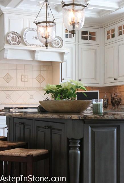 Classic Kitchen Backsplash Timeless Hand Made Ceramic