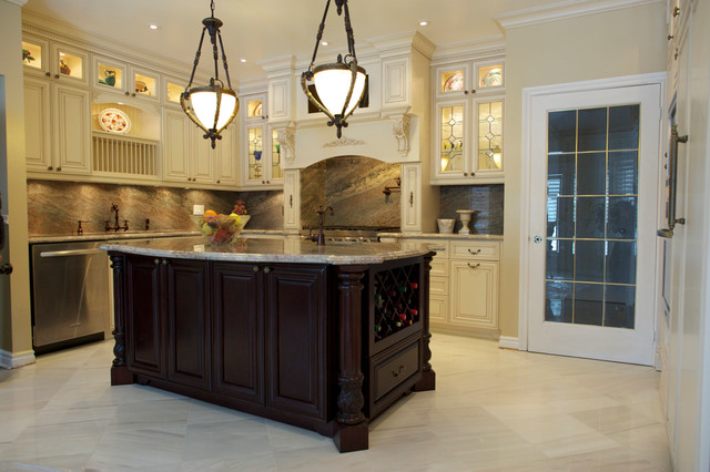 Classic Kitchen Cabinet - Traditional - Kitchen - Toronto ...