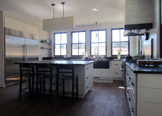 Classic kitchen country kitchen portland maine by hovde randall design build team - Kitchen design portland maine ...