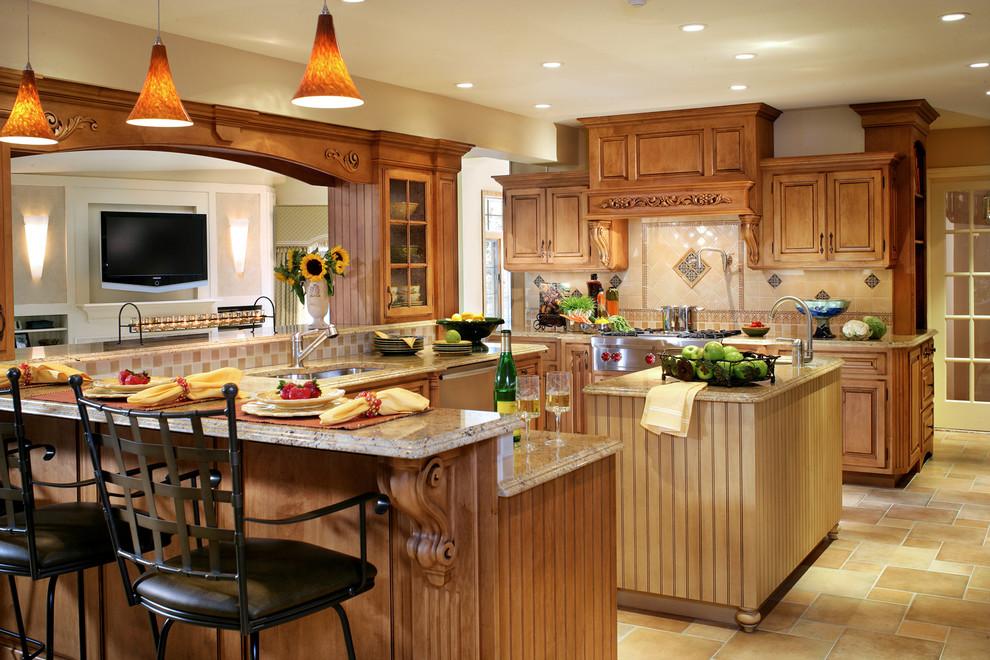 Classic kitchen in Kinnelon, NJ-Peter Rymwid Photography ...