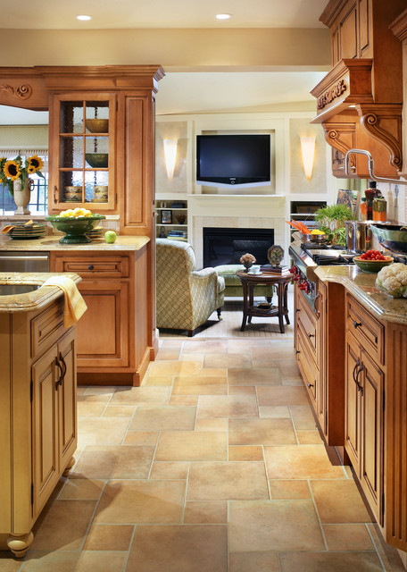 Classic kitchen in Kinnelon, NJ-Peter Rymwid Photography traditional-kitchen