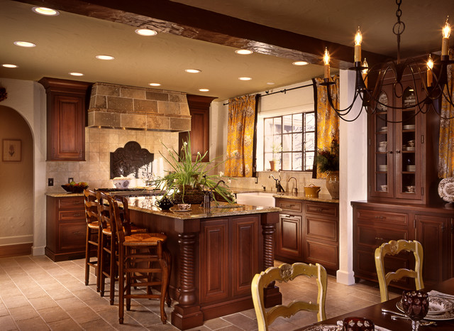 Residence kitchen south orange new jersey rustic kitchen