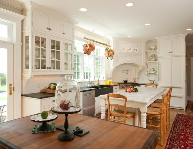Classic kitchen traditional kitchen boston by for Kitchen cabinets vermont