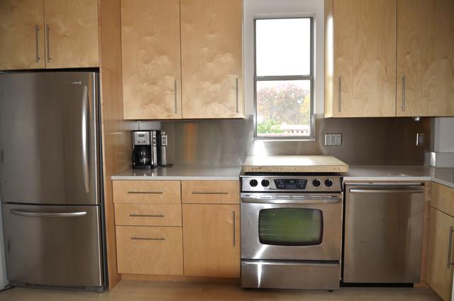 modern kitchen by Kara Mosher