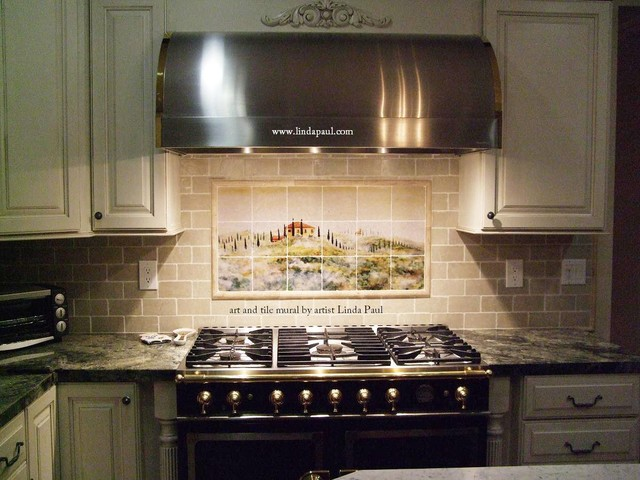 Classic Meets Contemporary in a Tuscan style Kitchen traditional-kitchen